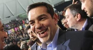 ראש הממשלה היווני אלכסיס ציפרס
