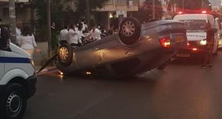 """נס: התהפך עם רכבו בב""""ב - ונפצע קל בלבד"""