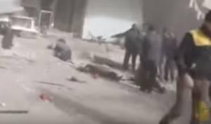 הפצועים הרבים, בזירת התקיפה הרוסית - מטוסים רוסים הפציצו והרגו עשרות אזרחים