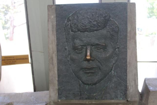דמותו של ג'ון קנדי ב'יד קנדי'