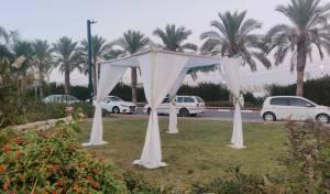 חתונת קורונה באוויר הפתוח