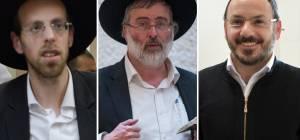שמוליק אלישיב, נתי גרוסמן ואברהם טריגר