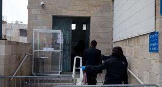 חרדים בכניסה לשירות התעסוקה בירושלים