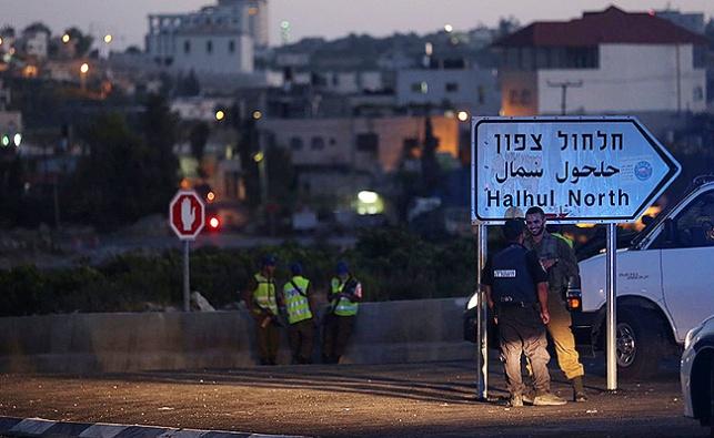 שוטר נפצע אנוש בפיגוע דריסה ליד חברון