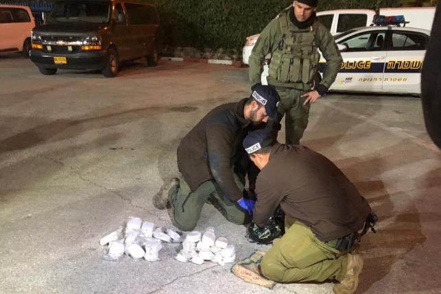 הבלשים סיכלו הברחת סמים מלבנון לישראל