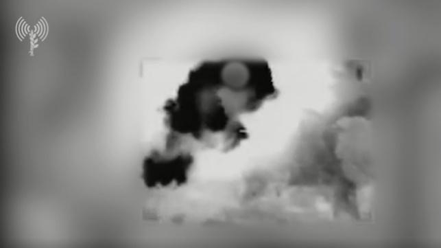 """תיעוד: כך הפציץ צה""""ל את מתקני החמאס"""