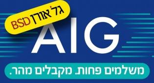 """AIG היא קבוצת הביטוח הבינלאומית המובילה בעולם, שבסיסה בארה""""ב"""