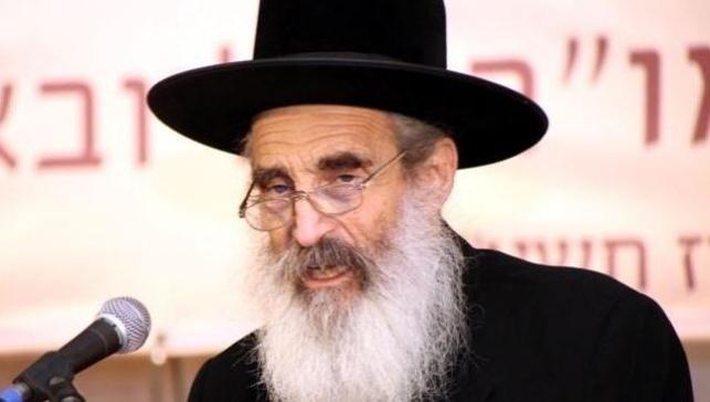 """הרב מנחם מנדלזון זצ""""ל. צילום: שמוליק סופר"""