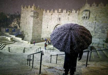 מזג האוויר: שלג בירושלים? מחר - אחד הימים הקרים ביותר