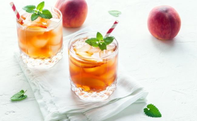 אין קיצי מזה: אייס תה עם אפרסק ונענע