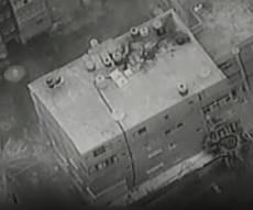 וידאו: כך מטוסי קרב הורידו בניינים ברצועה