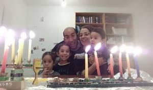 משפחת בן גל בימים מאושרים יותר