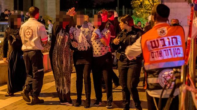 זירת הירי בתל אביב