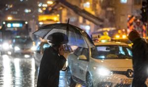 תיעוד מרענן: רחובות ירושלים בגשם הסוער