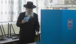 ליצמן בקלפי. ארכיון - לא לפחד מבחירות // הרב ישראל גליס