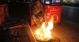 צעיר עזתי, מתחמם. אילוסטרציה - צעיר עזתי הצית עצמו במחאה נגד חמאס