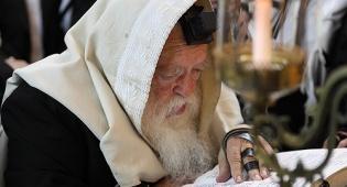 """הגר""""ח קנייבסקי מתפלל - אל תפספסו: היום תפילת השעה התשיעית"""