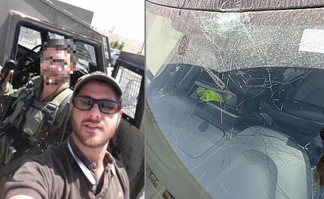 חיילים חרדים הצילו מתיישב שרכבו הותקף