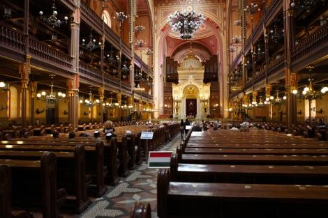 בית הכנסת הגדול בבודפשט, הונגריה