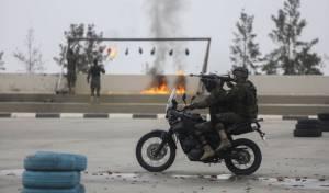 טקס הסיום של מחנה אימונים ברשות הפלסטינית