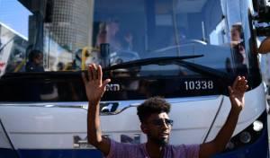 אילוסטרציה, מפגין בהפגנת האתיופים.
