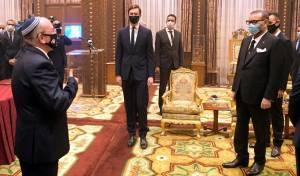"""ראש המל""""ל בירך 'נתן מכבודו' למלך מרוקו"""