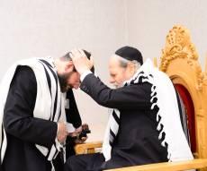 ראש הישיבה ורב הקהילה ערך ברית לבנו