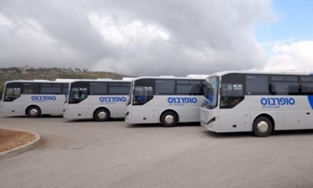 הבוקר: נהגי סופרבוס השביתו את האוטובוסים