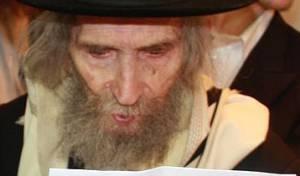 הרב שטיינמן, השבוע (צילום: יהודה פרקוביץ)