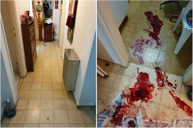 מרגש: הכוננים הבריקו את ביתו של הקשיש