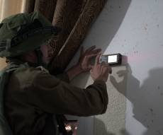 """כוחות צה""""ל פשטו על ביתו של המחבל. צפו"""