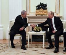 פגישת נתניהו - פוטין