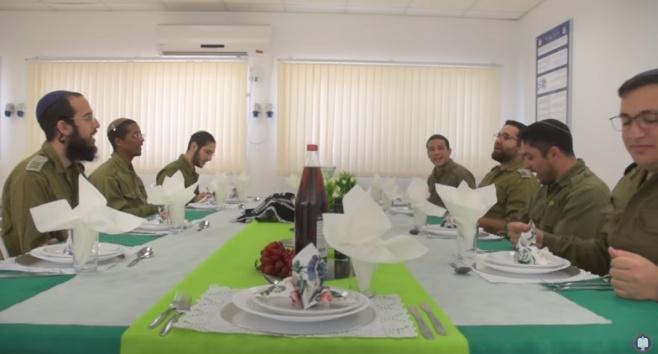 להקת הרבנות הצבאית במחרוזת שירי שבת