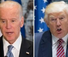 הנשיא טראמפ וסגן הנשיא לשעבר ביידן - הנשיא וסגן הנשיא לשעבר מאיימים במכות