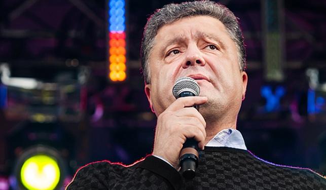 נשיא אוקראינה הנבחר פטרו פורושנקו