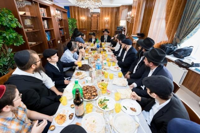 בית כנסת חדש נחנך במרכז החסד במוסקבה