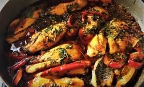 דג מרוקאי והמון רוטב מעולה - דג מרוקאי - ואתם תחליטו כמה חריף הוא יהיה