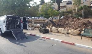 בהלה בירושלים: פגז נמצא בשכונת רמות