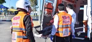 בן שבע נפל בליל שבת ונפצע באורח קשה