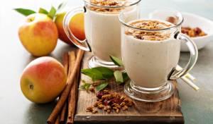 שייק פאי תפוחים מתוק וצונן