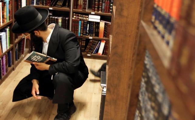 אחוז הקוראים בציבור החרדי - הגבוה ביותר