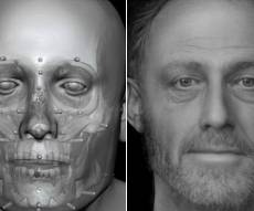 כך נראה גבר לפני 700 שנה? - מדענים מציגים: כך נראה גבר שחי לפני 700 שנה