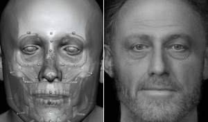כך נראה גבר לפני 700 שנה?