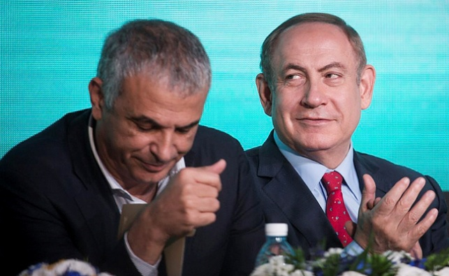 שר האוצר משה כחלון וראש הממשלה בנימין נתניהו