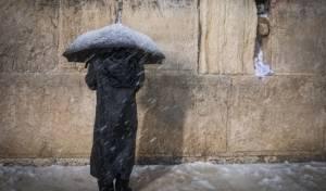 השלג בירושלים: הלימודים יתחילו באיחור?