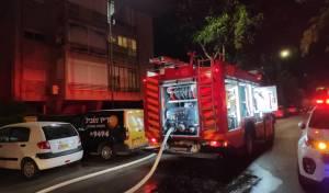 קשיש נפטר משאיפת עשן בשריפה בביתו