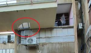 החור ברצפת המרפסת