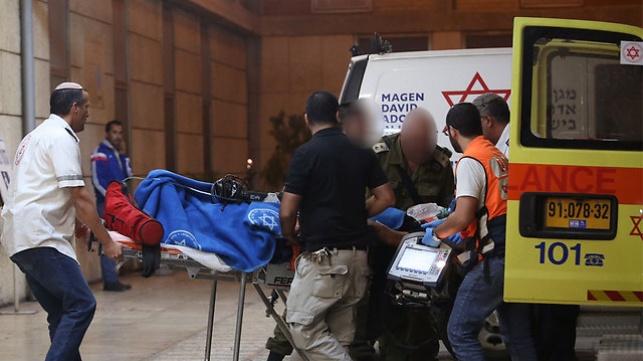 הפצועים מובהלים לבית החולים