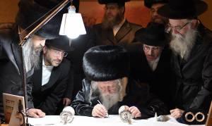 נפרדים מוידסלבסקי - במעמד הרבי: וידסלבסקי נפרד מ'האיחוד'