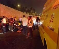 זירת התאונה - בגדי שבת, מתנות לנכדים ודם: בן 13 נהרג בתאונה קטלנית